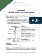 5.- Secciones 050-Cargas y F. de Demanda