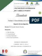 UNIDAD 1 Generalidades de La Consultoría.
