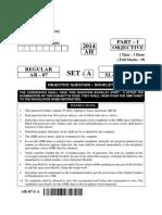 AR 07(Objective)Set A
