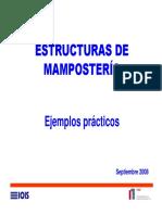 P-8 Ejemplos Mamposteria