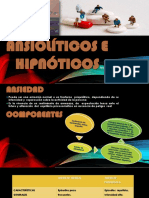 ANSIOLÍTICOS HIPNÓTICOS