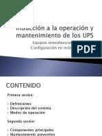 Entrenamiento en UPS