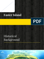Easter Islands Site Report