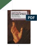 PUENTE OJEA, Gonzalo (1992,1994), El Evangelio de Marcos, Del Cristo de La Fe Al Jesús de La Historia (2)