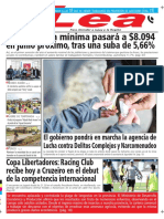 Periódico Lea Martes 27 de Febrero Del 2018