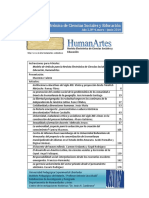 HUMANARTES N° 4 - ENERO-JUNIO 2014