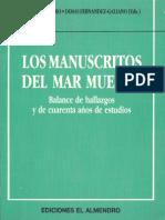 PIÑERO, Antonio (1994) Los Manuscritos Del Mar Muerto, Madrid, Ediciones El Almendro de Córdoba, S.I.