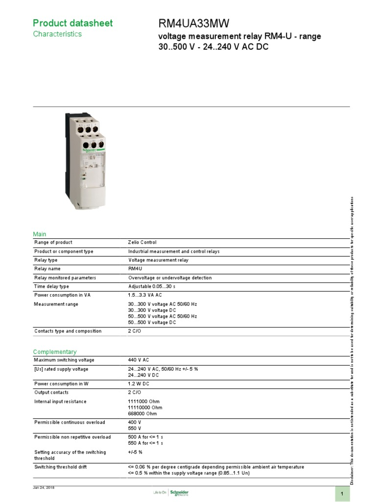 Zelio Control Rm4ua33mw Relay International Electrotechnical Rm4 Wiring Diagram Commission