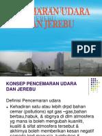 Pencemaran Udara Dan Jerebu