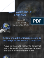 26 Bible Lessons