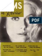 Films in Review 1969 08