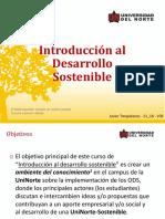 Introducción al Desarrollo Sostenible