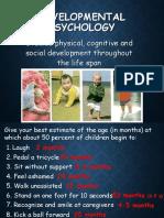 developmental  day 1 2018