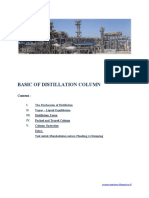 Basic of Distillation Column