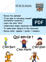 French Lesson 4
