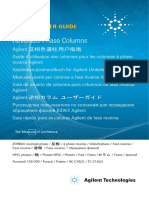 Column User Guide for Agilent Reversed Phase Column