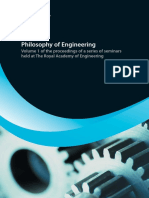 Philosophy of Engineering Volume1