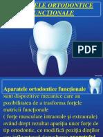Aparatele ortodontice functionale