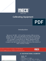 Calibrating Equipment - Mecoinst