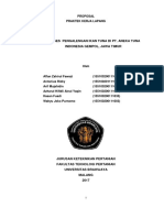 Contoh Proposal PKL PT Aneka Tuna Indonesia