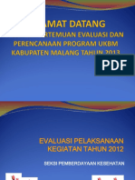 Evaluasi Kegiatan Pemberdayaan Apbd 2012 (1)