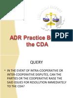 CDA ADR Presentation
