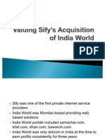 Valuing%20Sify's%20Acquisition%20of%20India%20World[1]