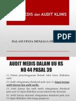 DR JHONI - Audit Medis Dan Audit Klinis