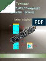 Cypress PSoC 5LP Prototyping Kit Measurement Electronics - Yury
