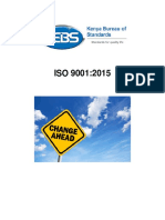 KEBS ... ISO 9001-2015 Transition Guide (Secure)