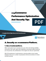 NopCommerce Performance Optimization and Security Tips