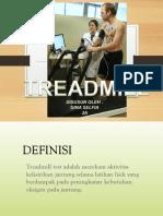 Presentasi Treadmill
