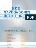 Powerpoint Navegadores de Internet