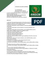 U.S. government donates new aerial surveillance system to AMISOM