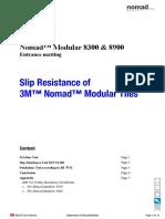 3m Nomad Modular Entrance Matting 8300 & 8900 Resistance Modular