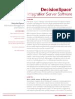 DecisionSpace Integration Server DATASHEET
