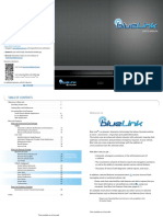 2016 Hyundai Santa Fe Blue Link Button1