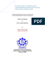 MASTER THESIS DISTRIBUTED GENERATION SYSTEM