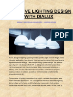 EFFECTIVE LIGHTING DESIGN WITH DIALUX-Design | Electrical Engineering | Lighting Design