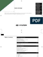 2016 Hyundai Santa Fe Audio & Navigation