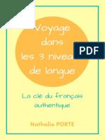 Guide Voyage Dans 3 Niveaux de Langue Nathalie FLE