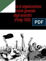 AA.VV. - Piattaforma Di Organizzazione Dell'Unione Generale Degli Anarchici (Parigi 1926)