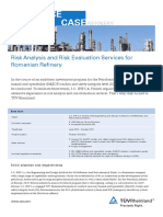 Tuv Rheinland Reference Case Risk Analysis Risk Evaluation Petrobrazi Refinery En