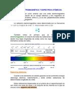 Radiación Electromagnética y Espectros Atómicos