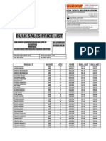Bulk Prices