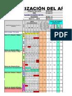Modelo de Calendarización 2018