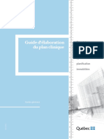 Guide d Élaboration Du Plan Clinique