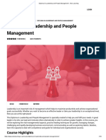 Diploma in Leadership and People Management - Visio Learning