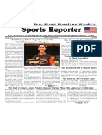 February 28 - March 6, 2018  Sports Reporter