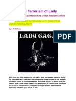 The Poetic Terrorism of Lady Gaga